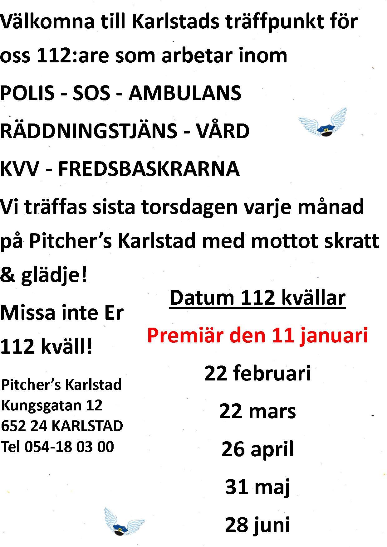 Karlstad Englaklubbens text hemsida