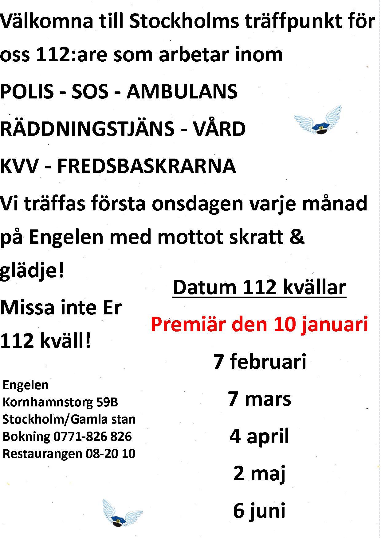 Stockholm Englaklubbens text hemsida